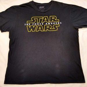 Star Wars | The Force Awakens Black T-Shirt